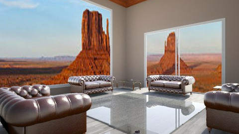 Desert modern - Living room - by Amateur architect