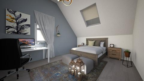 Another attic room - Bedroom - by LunaBradley