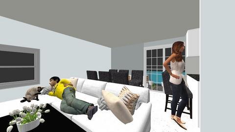 Patrycja Kutna 123 - Living room - by Patrycja_Kutna