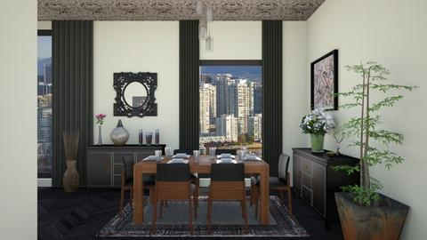 Stylish Dining Room - Modern - Dining room - by Psweets