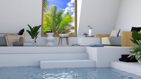 Pool Room - Modern - Living room - by millerfam