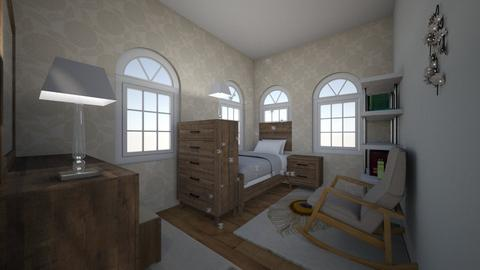 Quaint Cottage Bedroom - Classic - Bedroom - by Flamingprincess