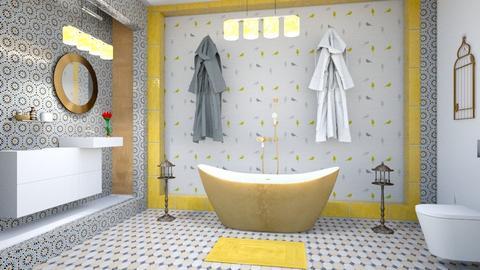 BIRD BATH - Vintage - Bathroom - by zayneb_17