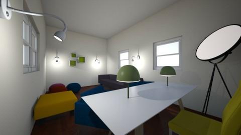 office room - by Alinapino07