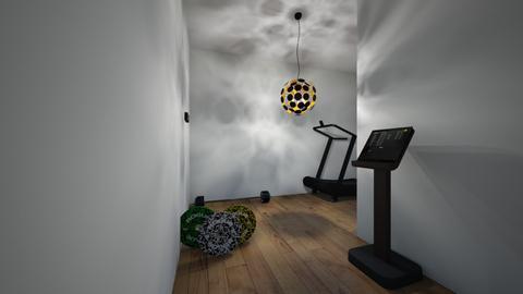 gym - by andrijaaca