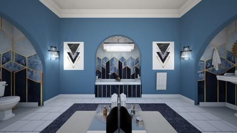 Art Deco - Bathroom - by sissybee