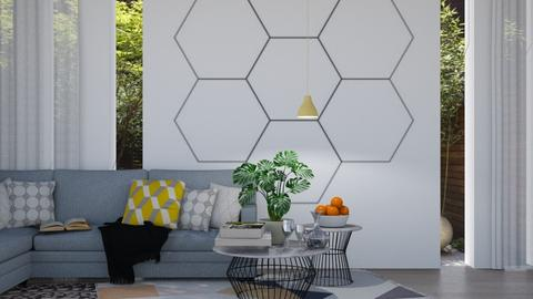 Hexagon - Living room - by _Wanderlust_