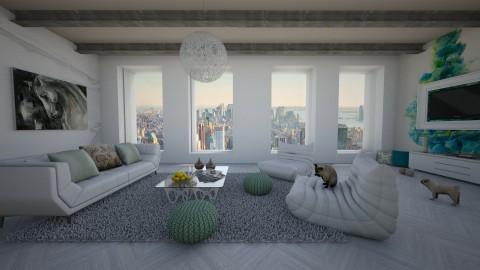 City Splash Of Color - Modern - Living room - by bgref