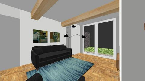 Annie and Shaun Brayshay - Living room - by homedesigncardiff