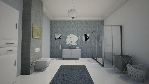 bathrooom2 - Modern - Bathroom - by Kim Youn ji