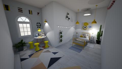 Minimalistic Kids Room - Modern - Kids room - by crustypear