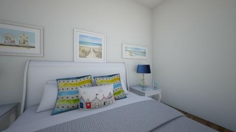 beach - Bedroom - by Katherine Gilbert