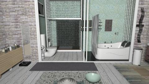Solacing Bathroom - Global - Bathroom - by Teddyyy