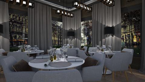 restaurant - by Eterea