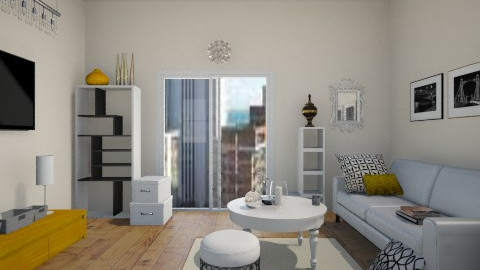 NYC suite - Modern - Living room - by jana krstic