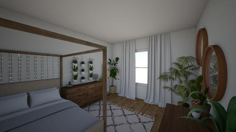 boho inspired bedroom - Bedroom - by eby_bond