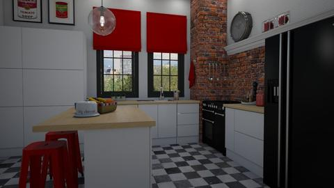 Just a kitchen - Kitchen - by Tutsi