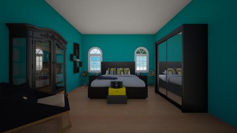 grown up  bedroom 2 - Bedroom - by eboni archila
