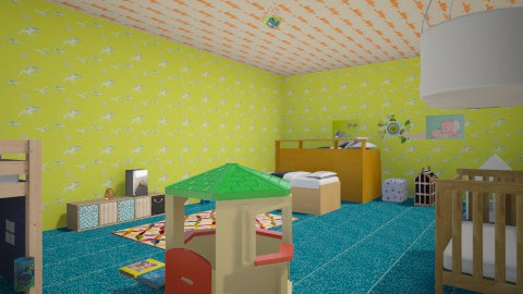 Childiren Room - Country - Kids room - by avcogluonur5467