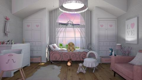 nursery - Glamour - Bedroom - by soralobo