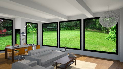 giller residence - Living room - by lindseybethhanson