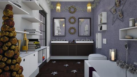 Ensuite - Eclectic - Bathroom - by Theadora