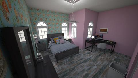 floral i guess - Glamour - Bedroom - by Zaria UwU