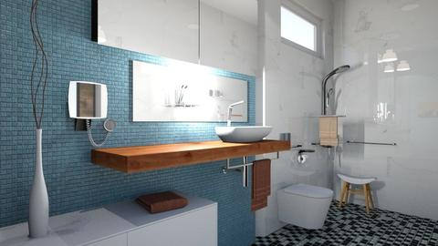 Project 1 accessible - Modern - Bathroom - by w1533356
