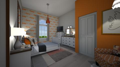 Fox Bedroom - Rustic - Bedroom - by marcelk456