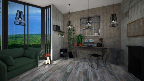 Urban Jungle Office - Office - by interiorinterior