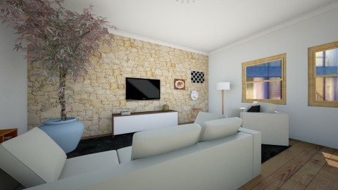 sala a - Modern - Living room - by Mi Hipolito