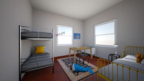 Saukkonen_Ukon huone - Kids room - by Essi_eames