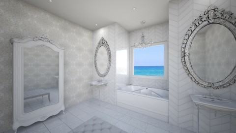 All That Sparkles - Glamour - Bathroom - by nicquo40