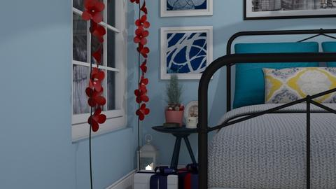 Christmas theme - Bedroom - by nonanymous_
