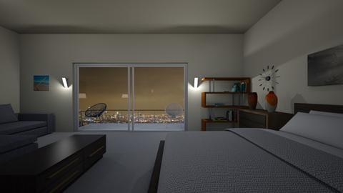 Los Angeles Room - Bedroom - by WestVirginiaRebel