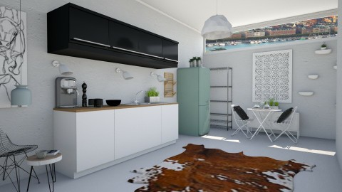 Ispired from North Europe - Modern - Kitchen - by Eurydice