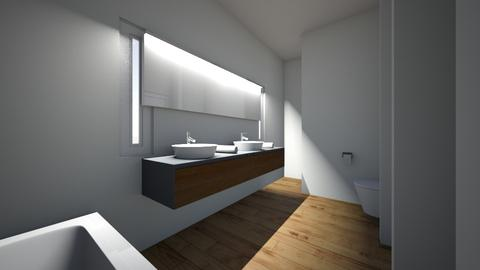 badkamer 2 - Bathroom - by eddielekker