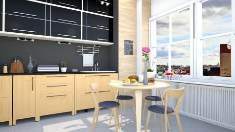 wood - Kitchen - by Inokentijroom