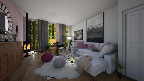 Template room - Living room - by Ancy