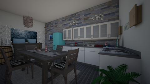 Nautical Kitchen - Kitchen - by Anna Neeb