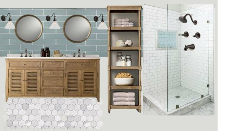 Park Master Bath - by littlewillowhome