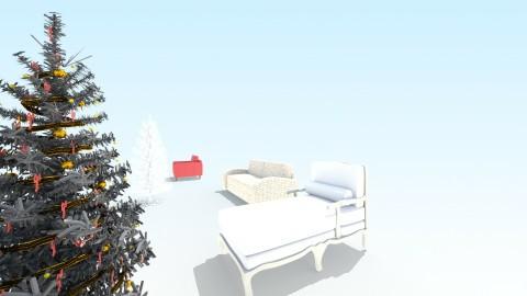 Christmas Day - Glamour - Living room - by Samaya Tate