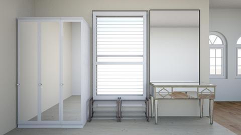 bedroom window wall - Bathroom - by archmira