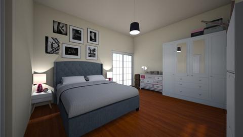 My bedroom - Bedroom - by maria m