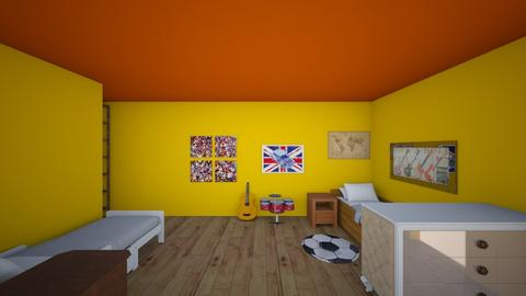 my room  - Country - Bedroom - by 17ahusson
