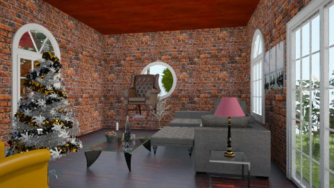 Sala Rustica - Rustic - Living room - by TessaSantana