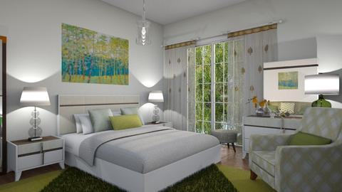 M_ Blaze - Bedroom - by milyca8