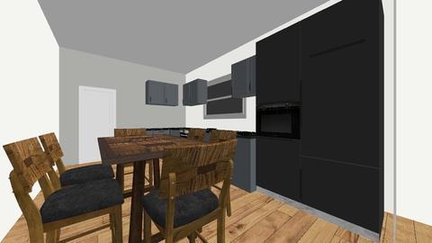 CASA 190 - Modern - Kitchen - by Belky Gonzales
