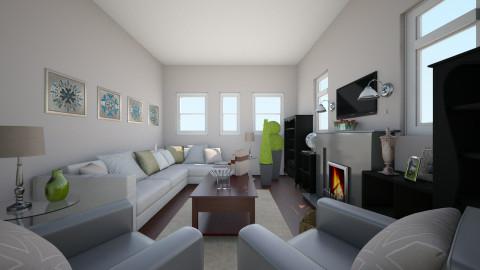 Neutral Living Room - Minimal - Living room - by Raquel Collison