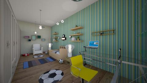 kids room double space - Kids room - by Nikos Tsokos